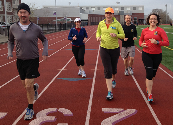 Classes - track runners at Unstill Life Fitness Coaching